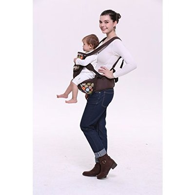 f92139898ad Product ID  2706. Colorland 4 Way Koala Ergo Hip Seat Baby Carrier-Brown