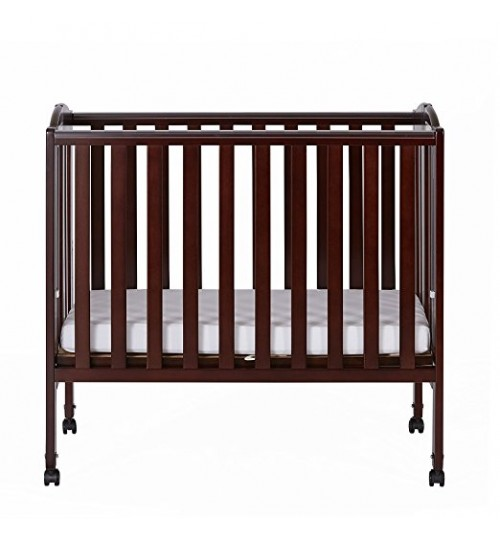 Bed Frames And Wooden Cot Dream On Me 2 In 1 Portable Folding Stationary  Side Crib,espresso