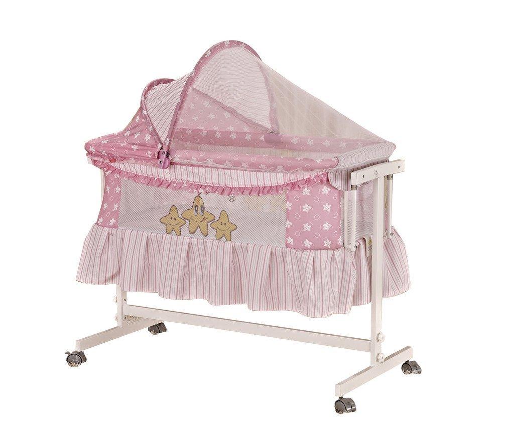 Bassinets Graceland Baby Bassinet Cot Pink
