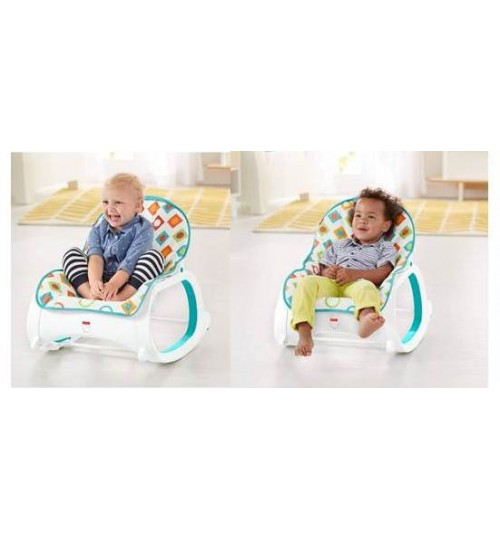 cc72eeab9 Bouncers , Rockers and Swingers Fisher-Price Infant-To-Toddler Rocker, Geo  Diamonds