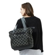 091317bb74864 Diaper Bags Soho Collections, Large Tote Diaper Bag, 7 Piece Complete Set  with Stroller Straps, Grand Central Station (Pine)