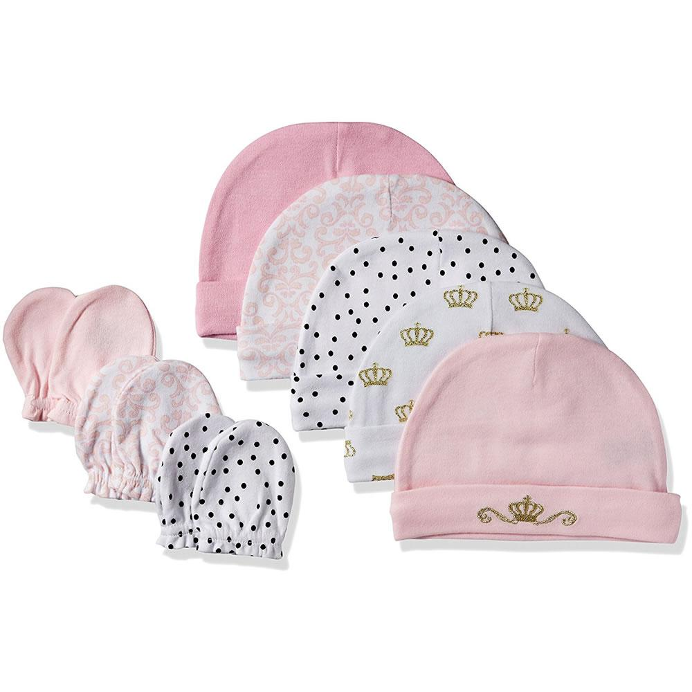 10db77580c8 Caps Hudson Baby Cap and Scratch Mitten Set
